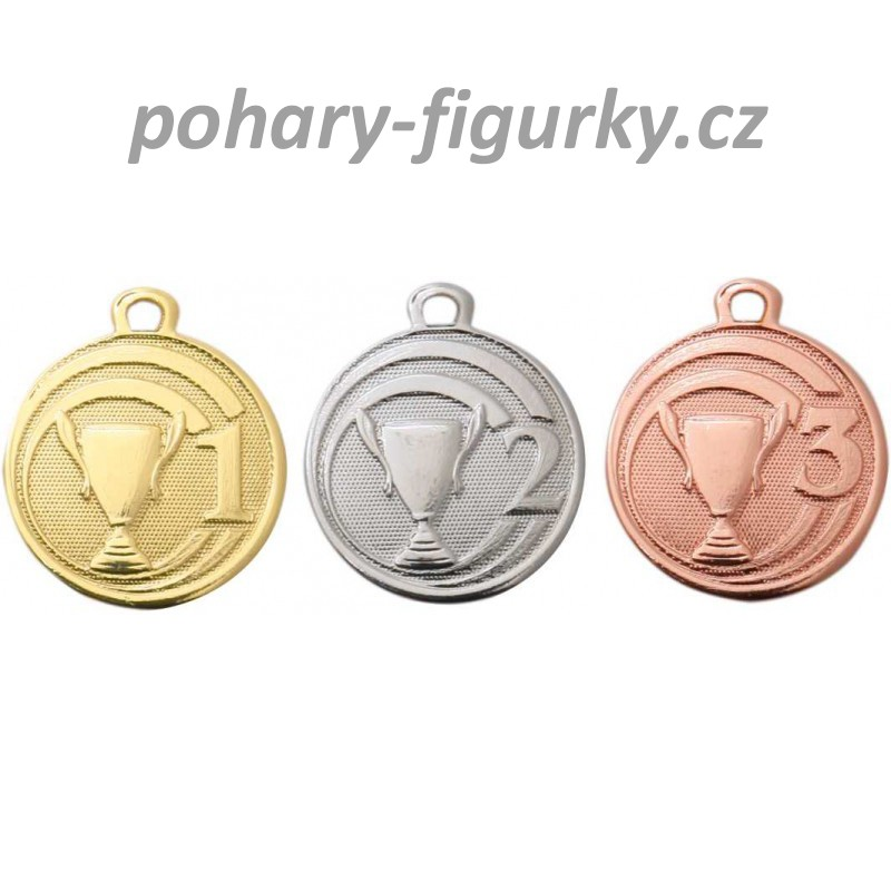 Sada medailí s pohárem ME087 - 32 mm