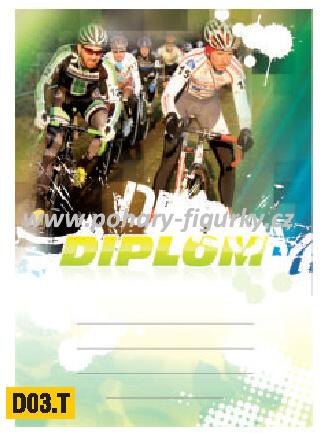 diplom D03.T cyklistika