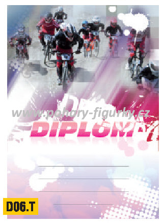 diplom D06.T cyklistika BMX
