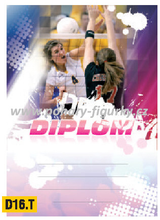 diplom D16.T volejbal ženy