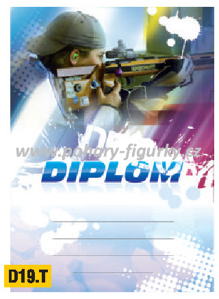 diplom D19.T střelba