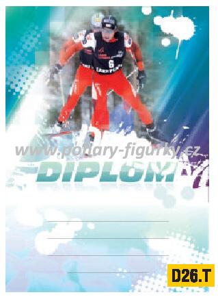 diplom D26.T běh na lyžích