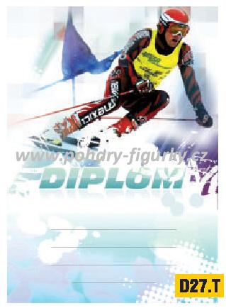 diplom D27.T sjezdové lyžování