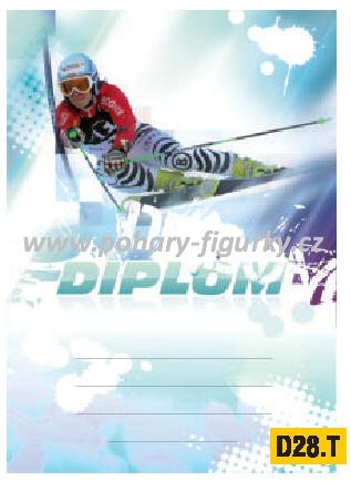 diplom D28.T sjezdové lyžování