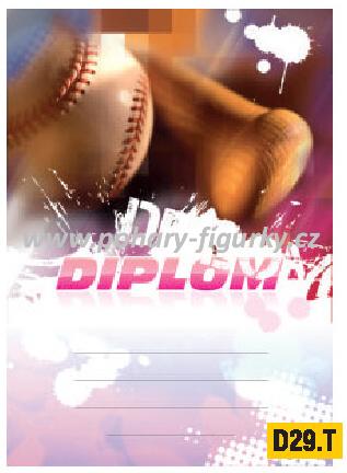 diplom D29.T baseball