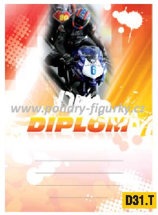 diplom D31.T silniční motorky