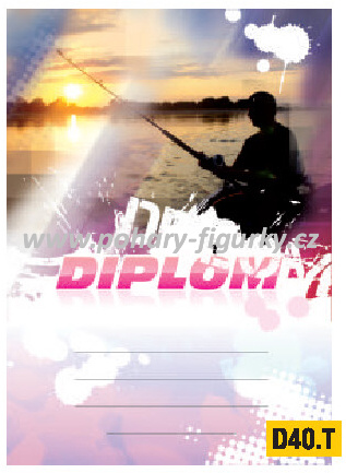 diplom D40.T rybář