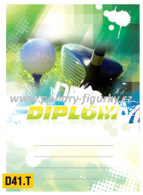 diplom D41.T golf