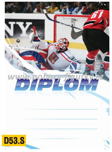 diplom D53.T hokej