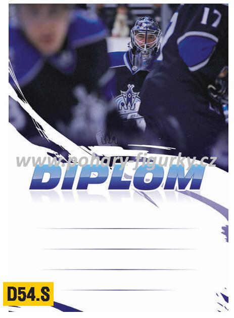 diplom D54.T hokej