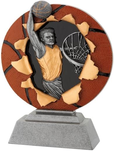 sportovní plaketa FG 1131 - basketbal