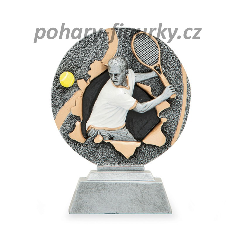 sportovní plaketa tenis FG1160