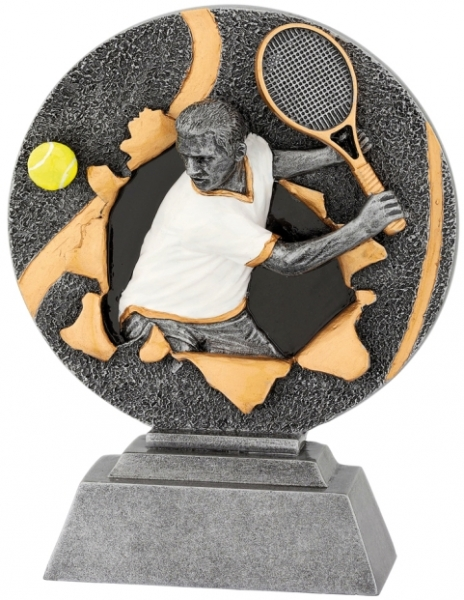 sportovní plaketa X1160 - tenis