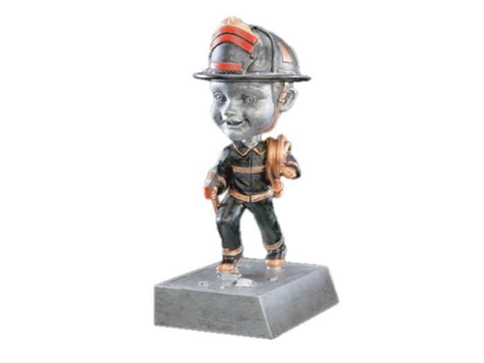 Figurka hasič s kývací hlavičkou F52568