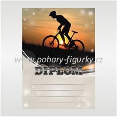 diplom, D114, horská, kola, mountainbike
