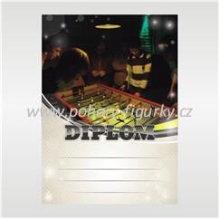 diplom D122 - stolní fotbal