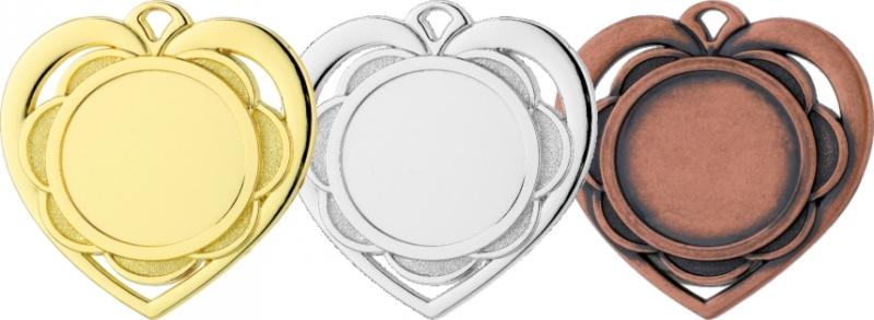 Medaile MD87 - srdce