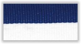 Medaile, stuha, trikolora, modrobílá,