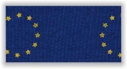 Stuha na medaile s karabinkou - evropská unie