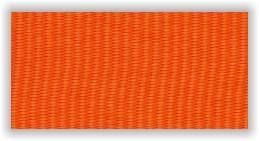 Stuha na medaile - oranžová