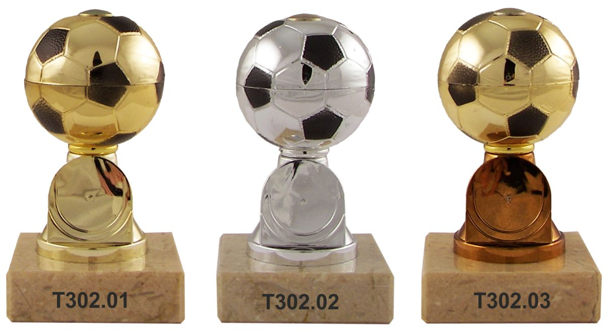 trofej fotbal - nohejbal T302