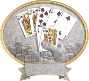 Plaketa poker FG54621