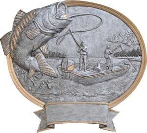 Plaketa rybář FG54624