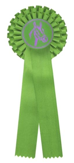 kokarda dvouřadá zelená