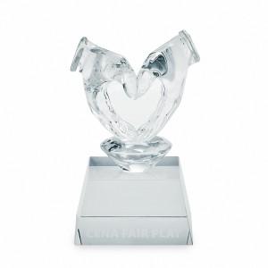 Křišťálová trofej 7215 - srdce