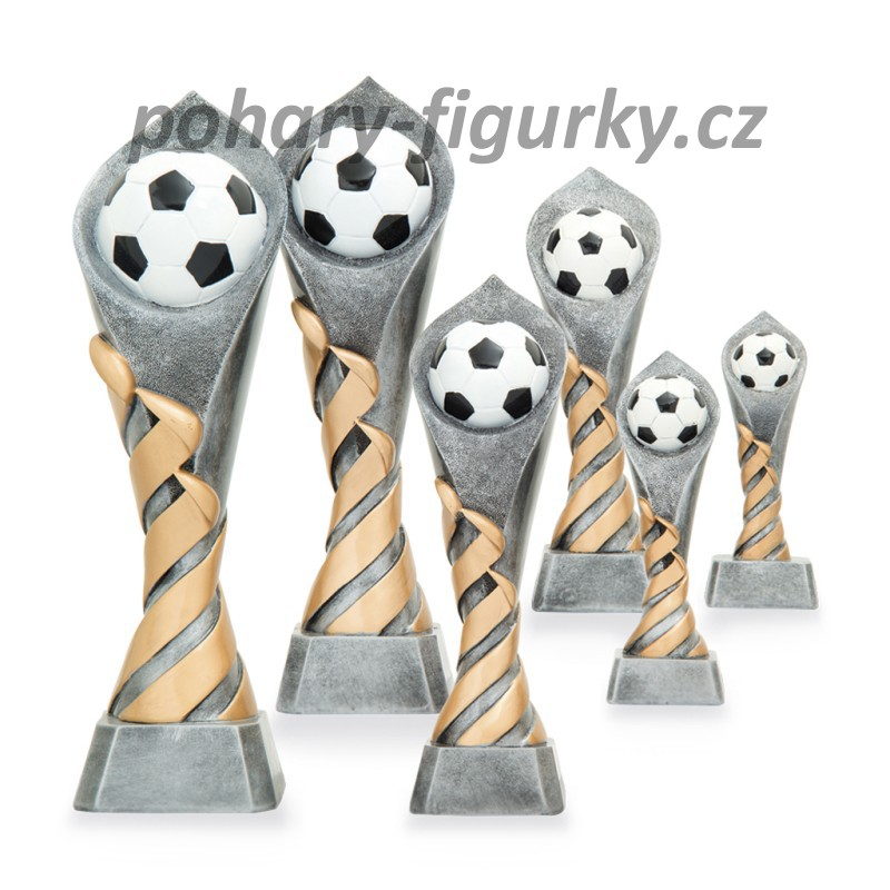 trofej fotbal, nohejbal 2642