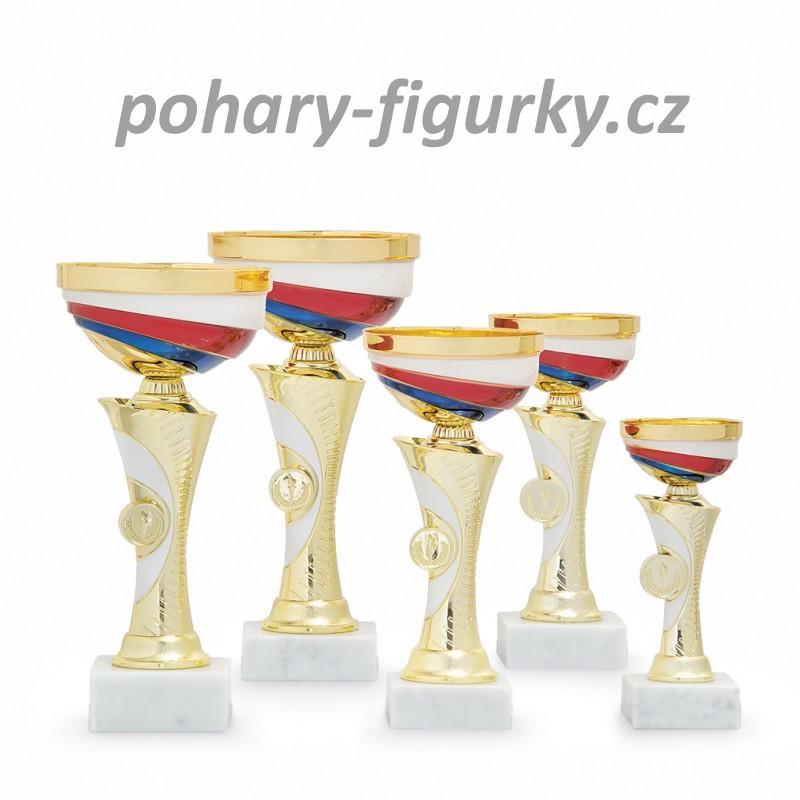 Sportovní poháry s trikolorou 3201