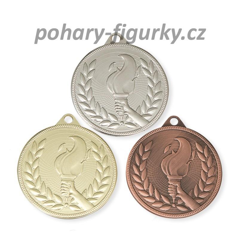 sportovní medaile 9339 - pochodeň