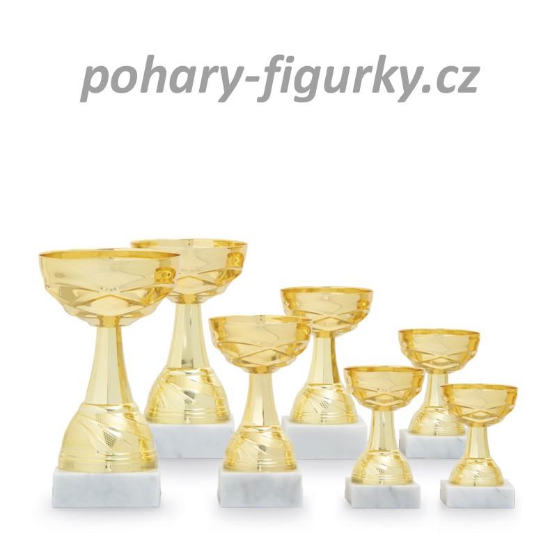 Sportovní pohár kovový kalich 3137