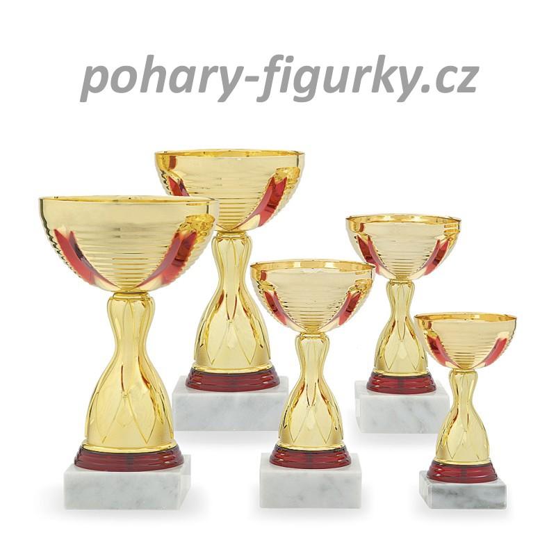 Sportovní pohár s kovovým kalichem 3338