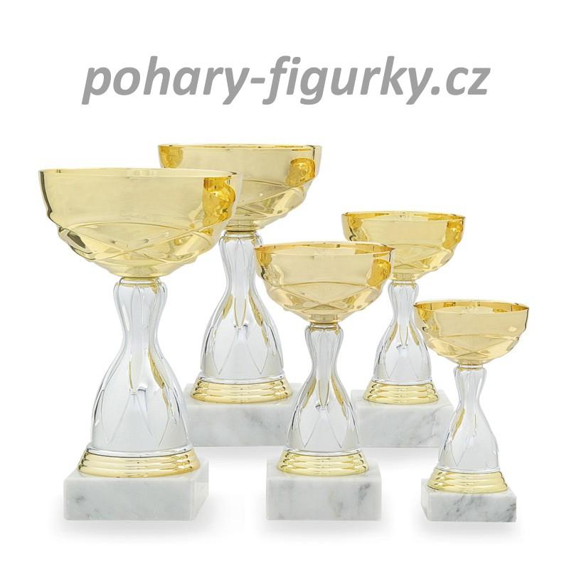 Sportovní pohár s kovovým kalichem 3336